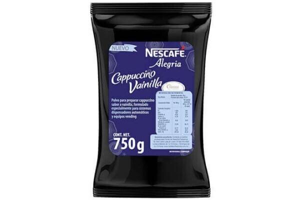 NESCAFÉ Cappuccino Vainilla vending bolsa 750g