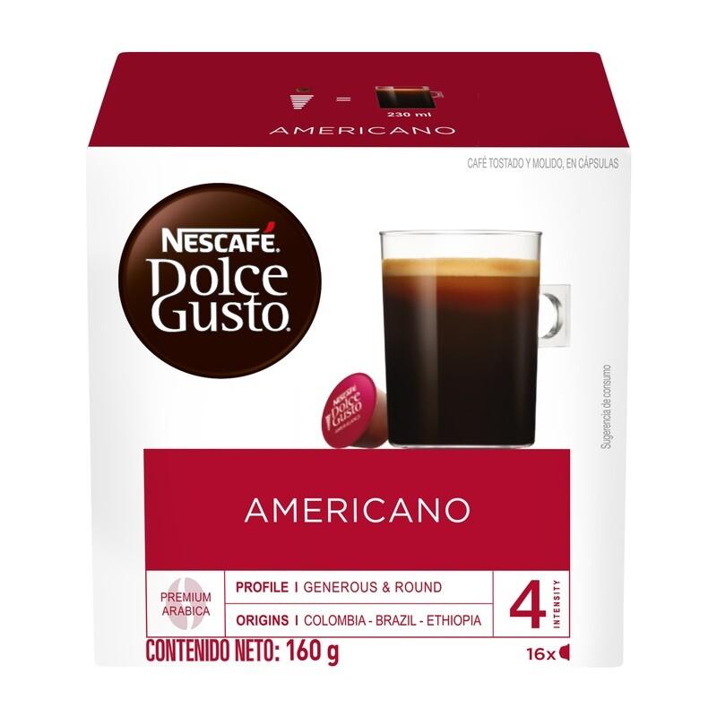Dolce Gusto Café Americano / 3 unidades