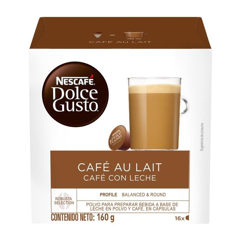 Dolce Gusto Café con Leche / 3 unidades