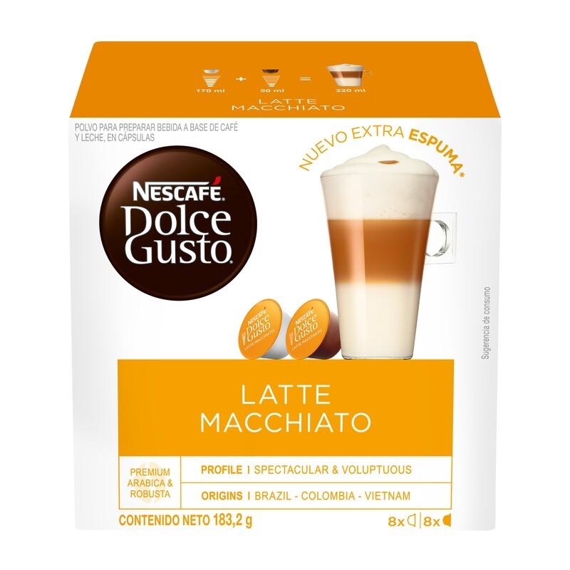 Dolce Gusto Latte Macchiato / 3 unidades