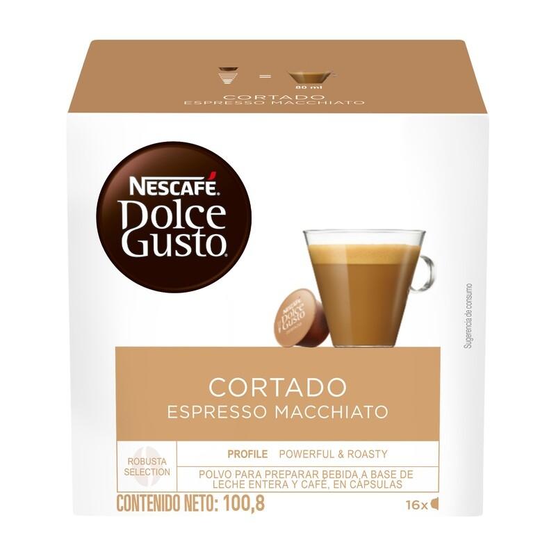 Dolce Gusto Cortado Espresso Macchiato / 3 unidades
