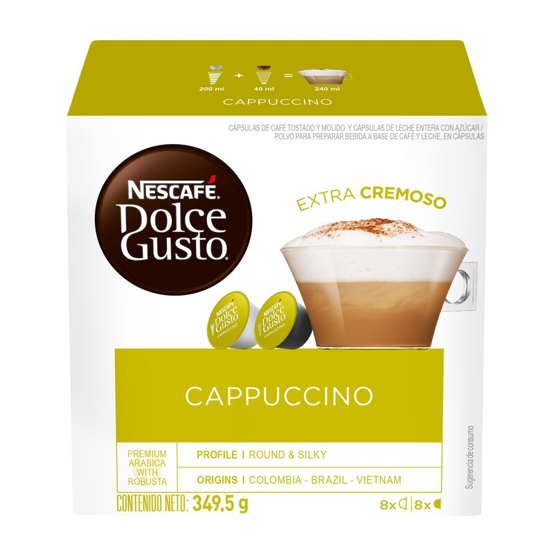 Dolce Gusto Cappuccino / 3 unidades