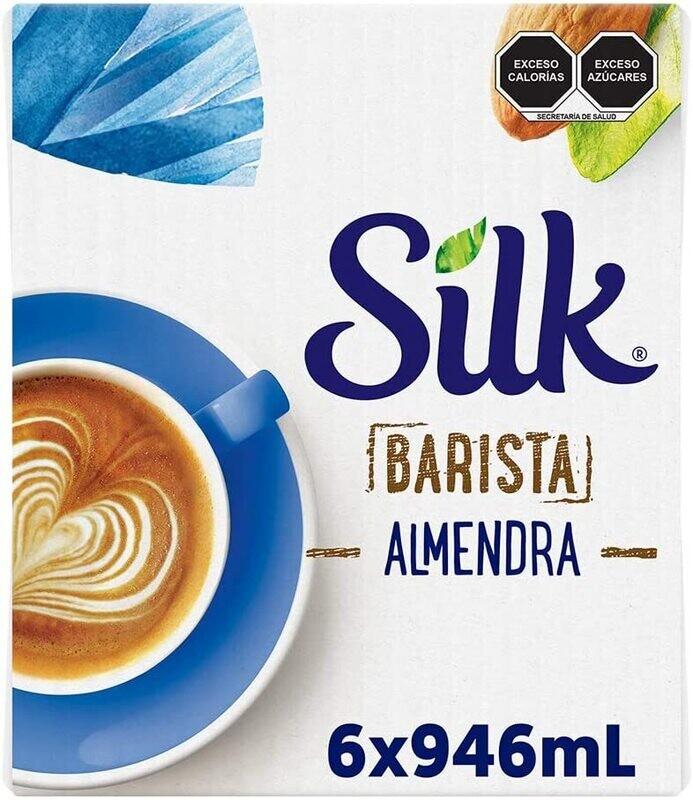 Silk Barista Leche de Almendra / 6 unidades