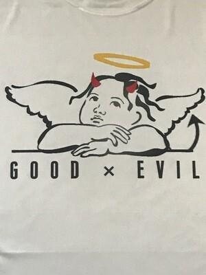 Good Vs Evil Polyester Tee