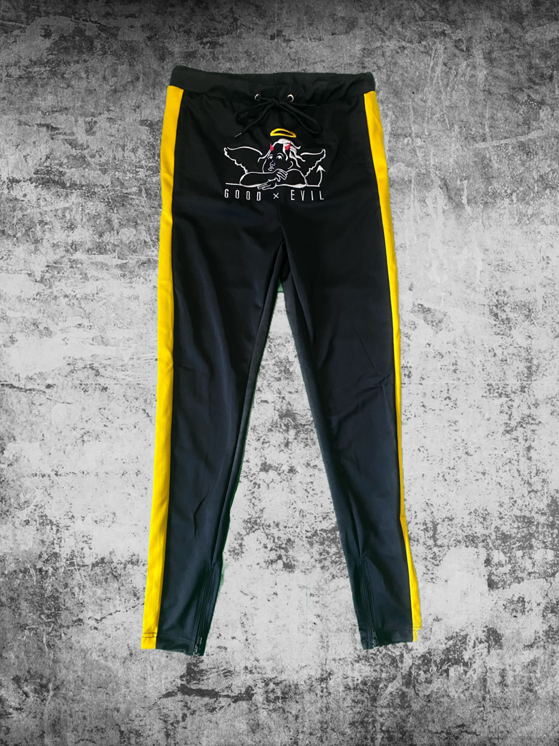 Good x Evil Joggers (blk/yellow)