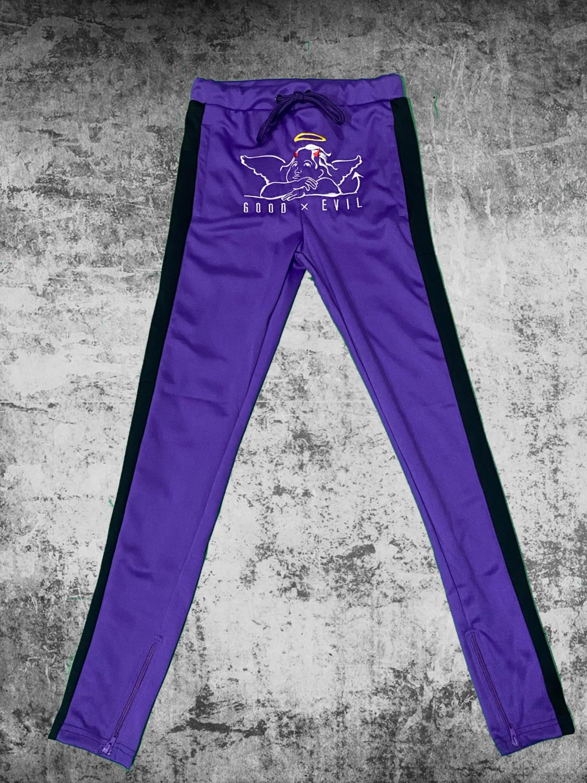 Good X Evil Joggers (Purple)