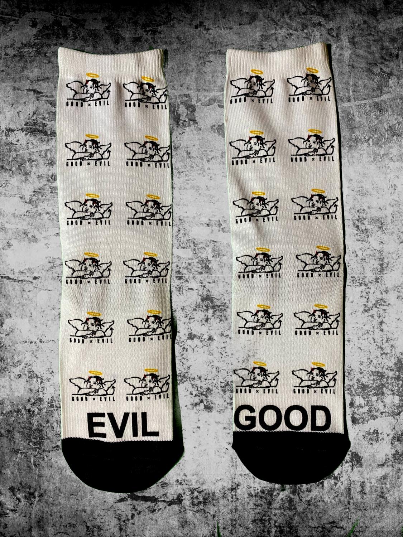 Good x Evil Socks Dress Socks