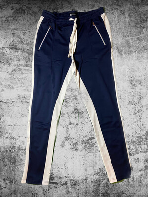 Navy Joggers By 1541