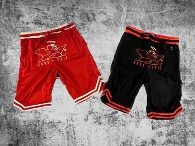 Good x Evil Mesh Shorts