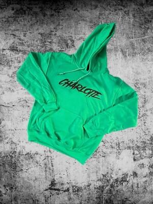 """Green """"Charlotte"""" Hoodie"""