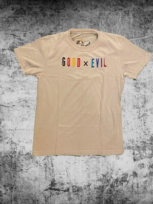 Good X Evil Multi Colored Logo