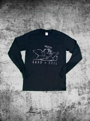 Good X Evil (glow In The Dark) Long Sleeve T Shirt