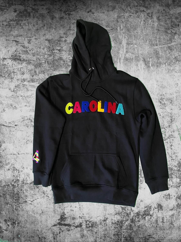 """""""Carolina"""" Multi Color Chenille Hoodie"""