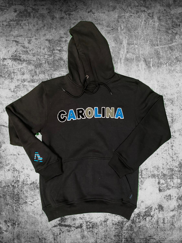 """Carolina"" Panther Chenille Hoodie"