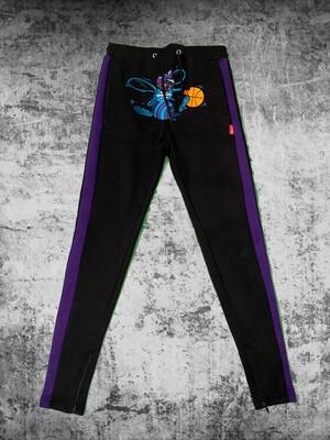 "Zeuway ""Hornets"" Terry Cloth Joggers"
