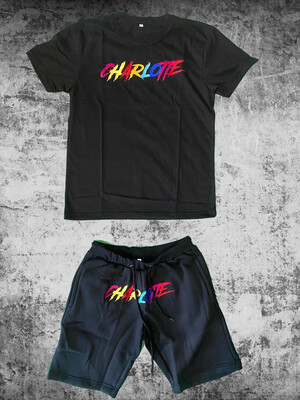 Charlotte Multi Color Short Set