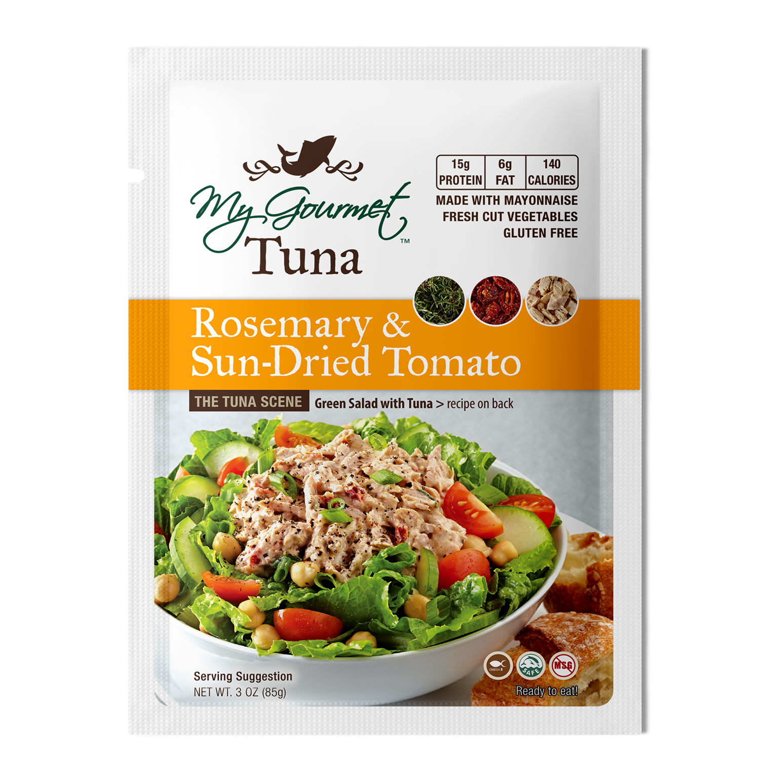 Pouches - Rosemary & Sundried Tomato (12-Pack)