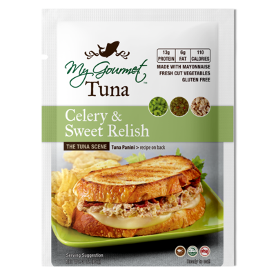 Pouches - Tuna Celery & Relish (12-Pack)