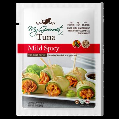 Pouches - Tuna Mild Spicy (12-Pack)