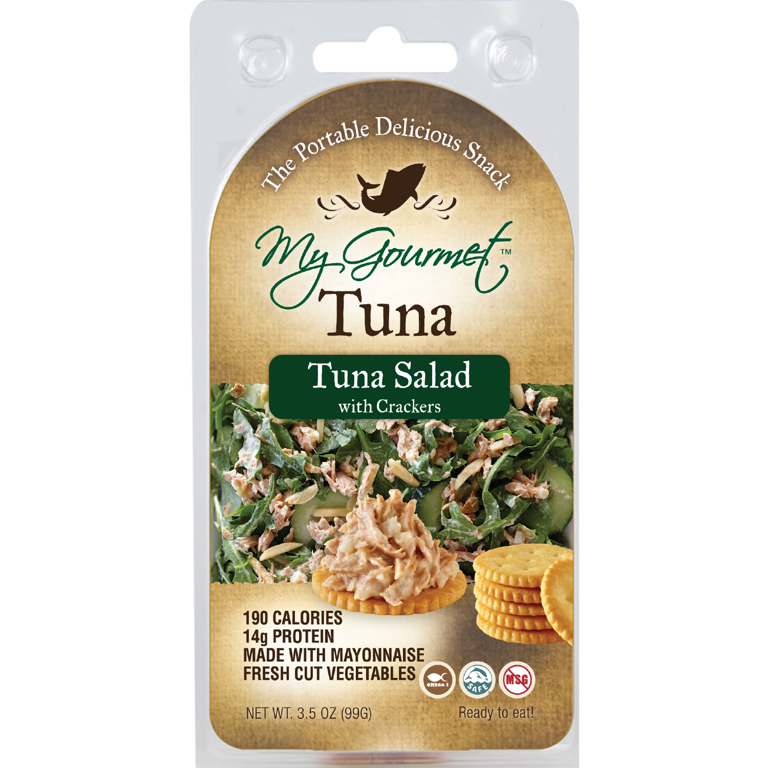 Snack Pack - Tuna Salad (6-Pack)