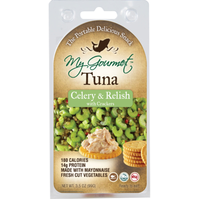 Snack Pack - Tuna Celery & Relish (12-Pack)