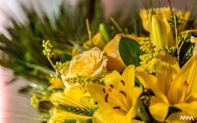 Bouquet de mix de flores
