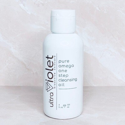 pure omega one step cleansing oil