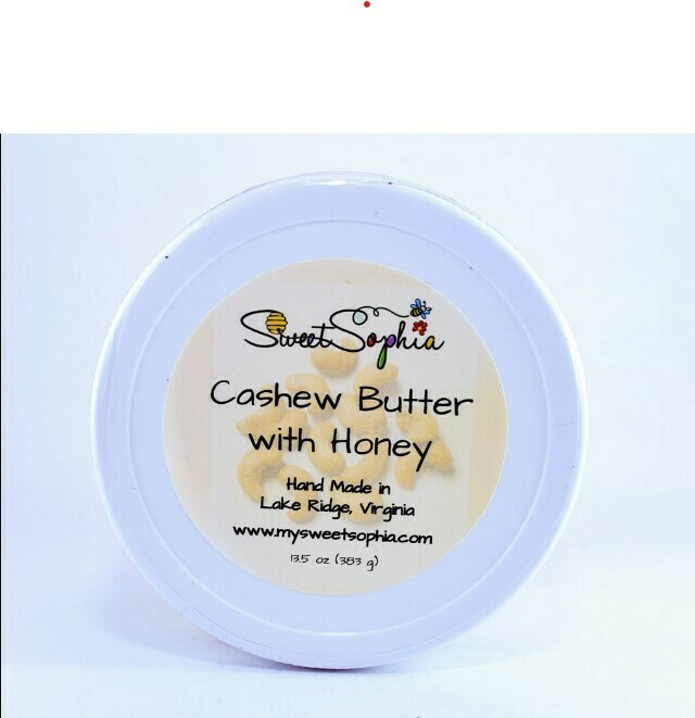 Cashew Butter with Honey