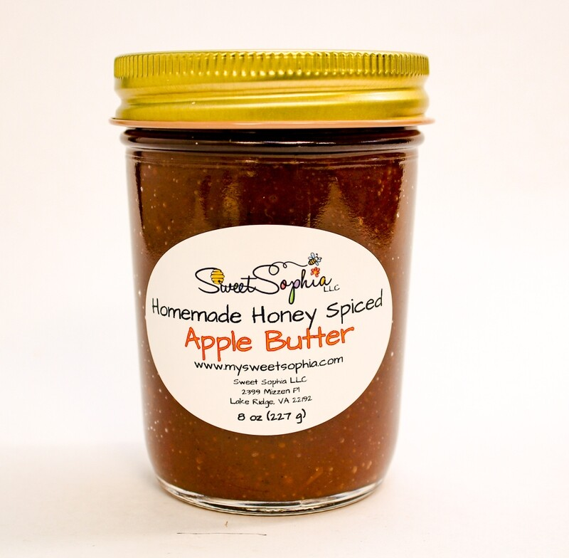 Honey Spiced Apple Butter
