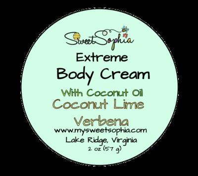 Extreme Body Cream