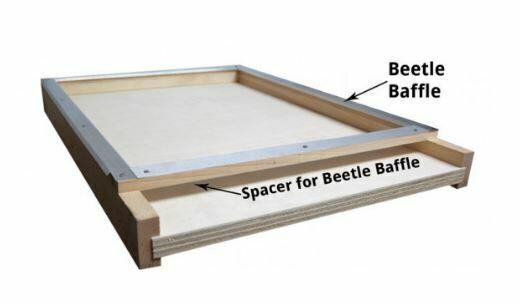 10 Frame Beetle Baffle