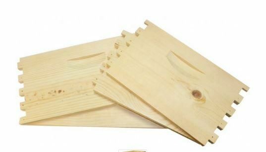 8 Frame Unassembled Hive Body-Dadant