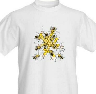 T-shirt-Honey Chemistry-SS-Crew