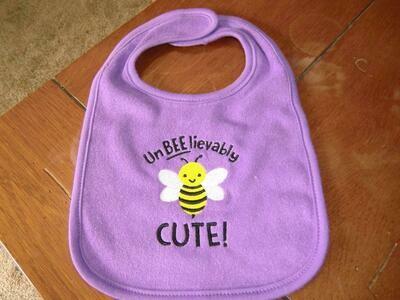 UnBEElievably Cute Baby Bibs