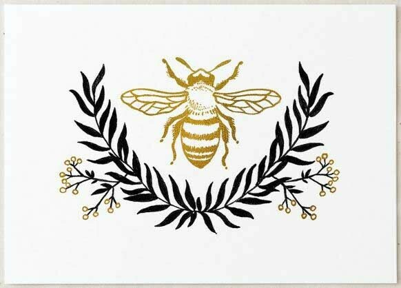 Wildship Bee Art Print
