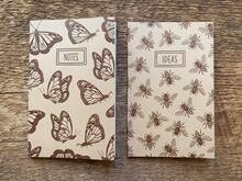 Pocket Notebook - Monarchs and Honeybees