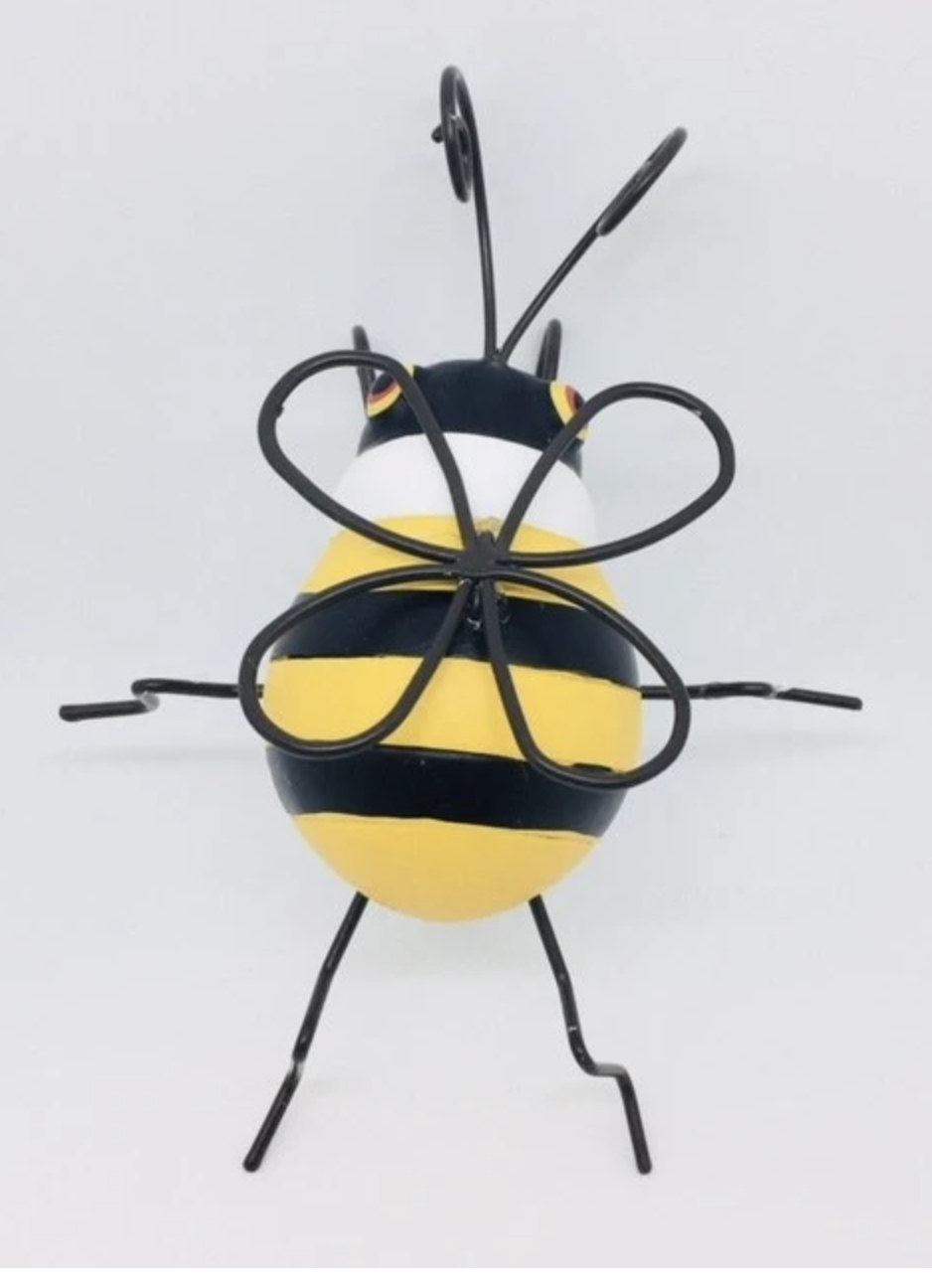 bee flower pot decoration