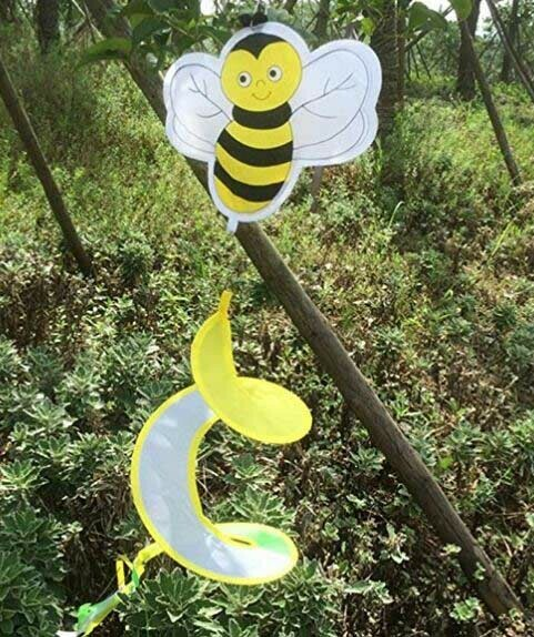 Bee Hanging Wind Spinner