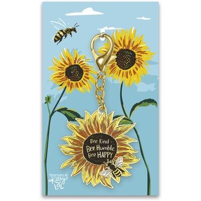 Bee Kind Keychain