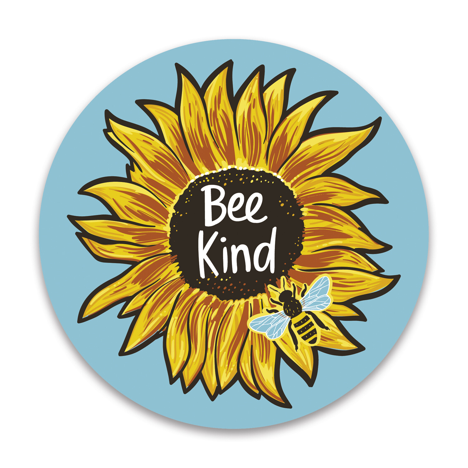 Bee Kind Car Magnet