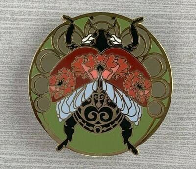 Art Nouveau Ladybug Pin