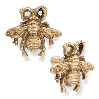 Brass Bee Knob