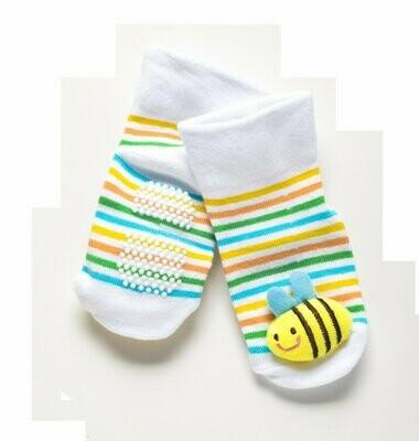 Bee Slipper Socks