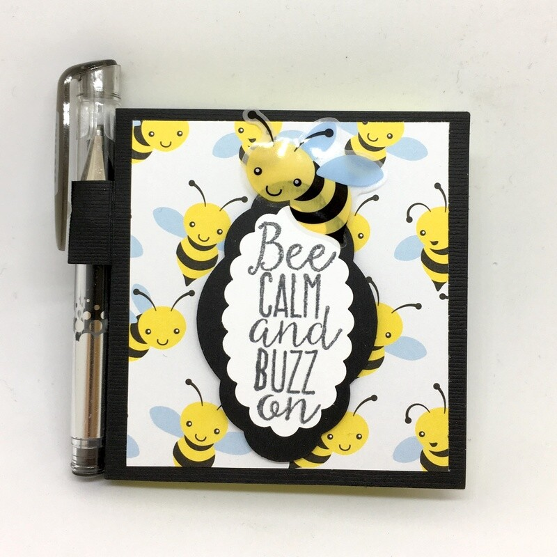 Bee Sticky Notepad & Pen-Hamawilo