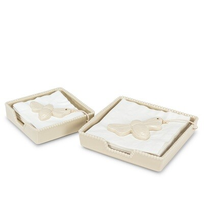Beeton Ceramic Napkin Holders