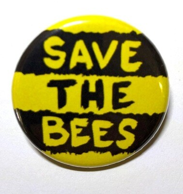 Black and Yellow Striped S.T.B Bee Pins