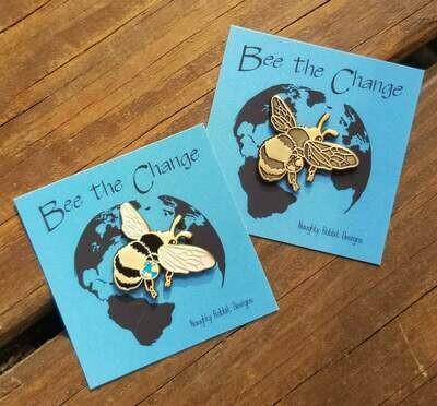 Bee the Change Bee Pin