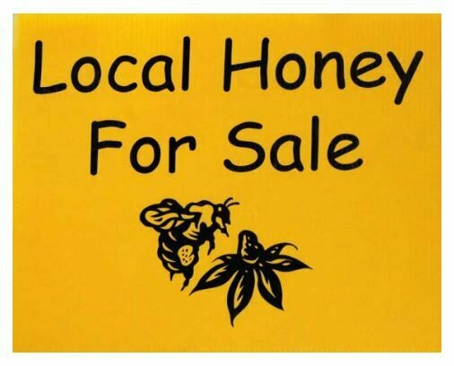 Local Honey Sign