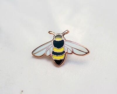 Enamel Bee Pin-Wildship
