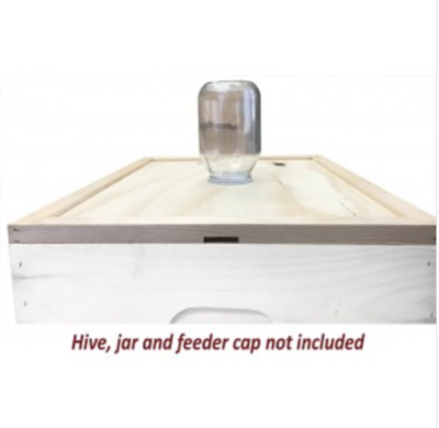 Dadant-Notched Inner Cover/Feeder